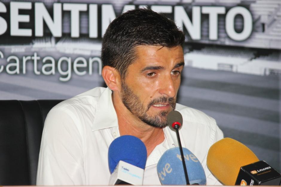 Víctor Fernández post partido contra Linares Deportivo