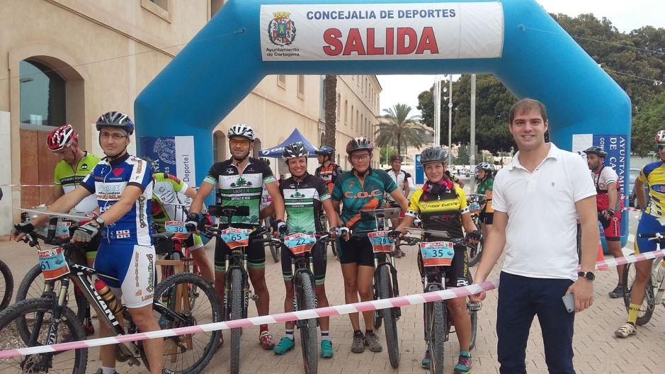 Carrera de orientación en Cartagena