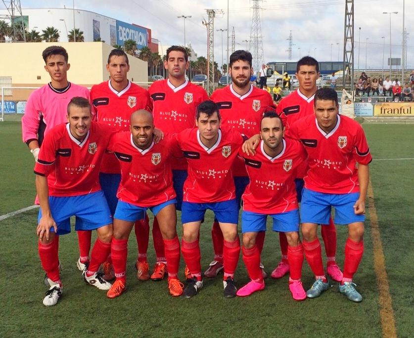 Alineación del Mazarrón contra el Cartagena FC