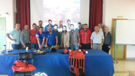 Andrés Lledó visita instituto y CIFP Hespérides