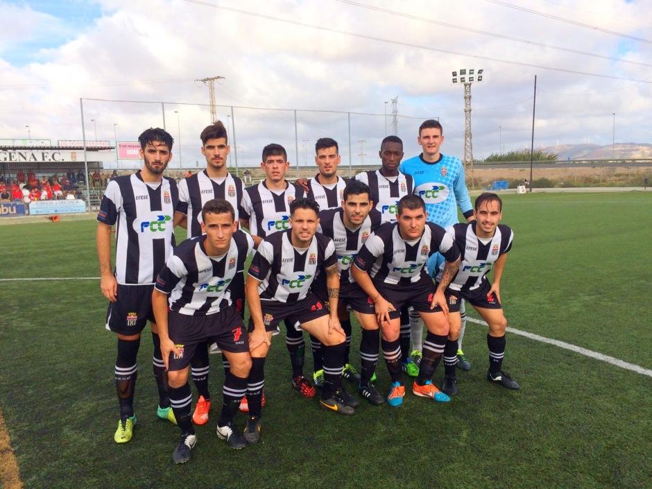 Cartagena FC contra Mazarrón