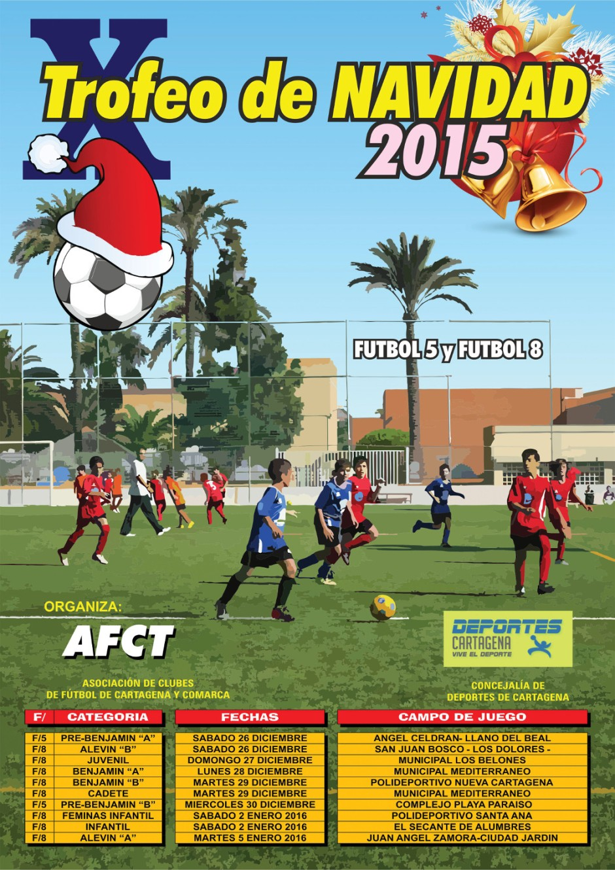 Trofeo Navidad 2015 AFCT