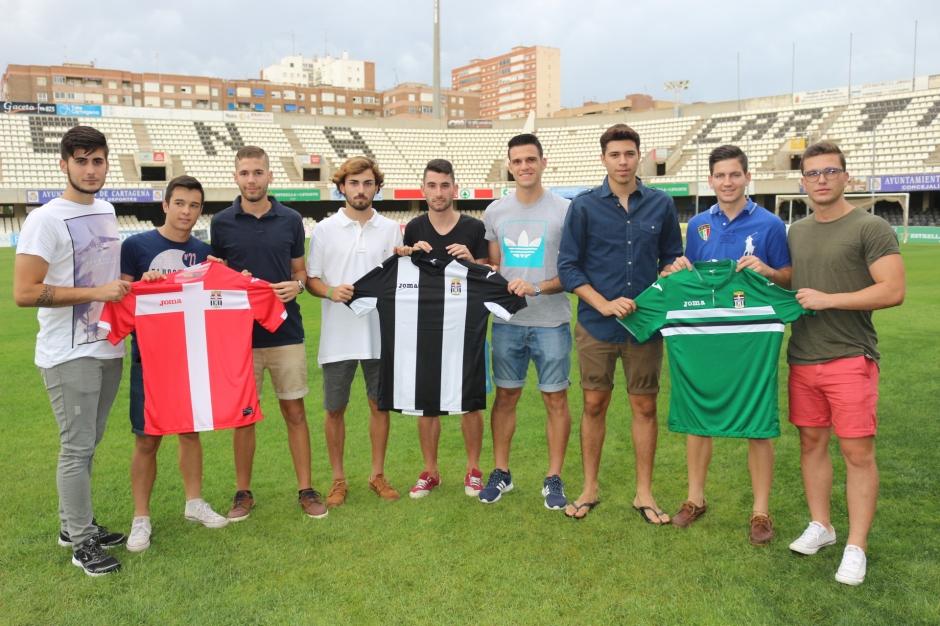 Jugadores renovados FC Cartagena B